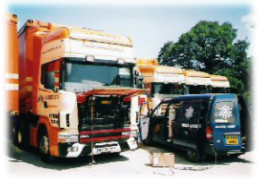 We provide a service to major haulage companies